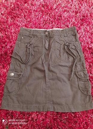 Юбка джинс в отличном состоянии