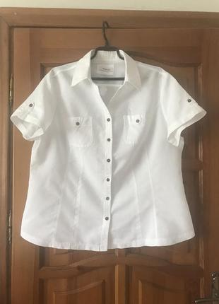 Рубашка,лен,пог 62