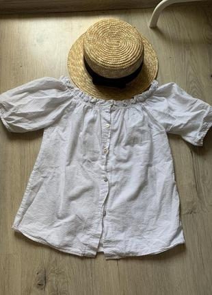 Милая блуза на плечи