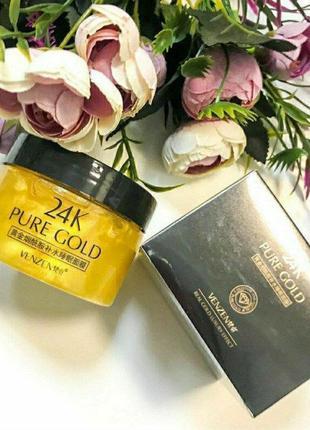 120 г ночная маска venzen pure gold 24k luxury effect probeauty