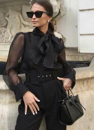 Блуза с органзы