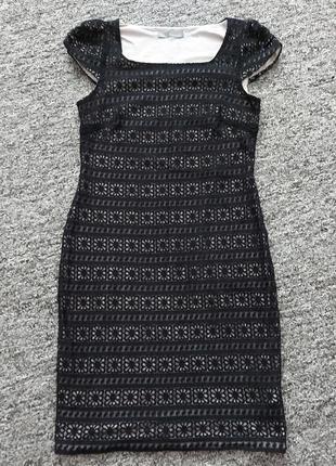 Интересное платье карандаш, размер 12