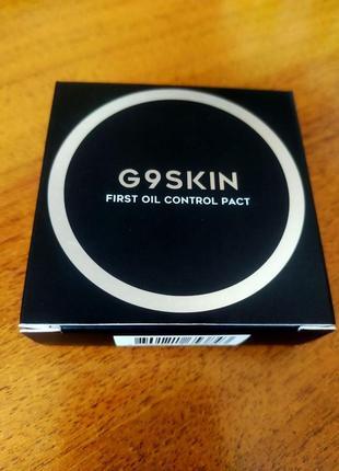 Компактная пудра для жирной кожи g9skin first oil control pact