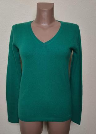Кашемировый свитер пуловер maddison /2823/