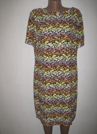 Вискозное платье спенсер р-р14-16