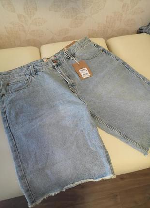 Мужские джинсовые шорты next uk 38 размер