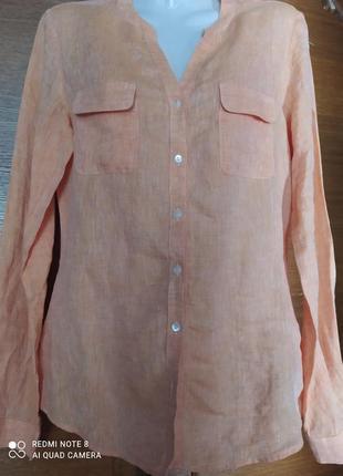 Блуза женская льяная