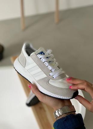 Стильные женские кроссовки кеды демисезонные adidas текстильные