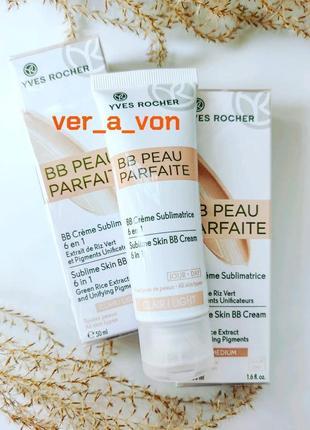 Bb-крем для лица безупречная кожа 6в1 ив роше