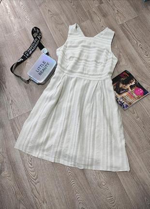 Женское натуральное платье натуральный сарафан лен вискоза хлопок