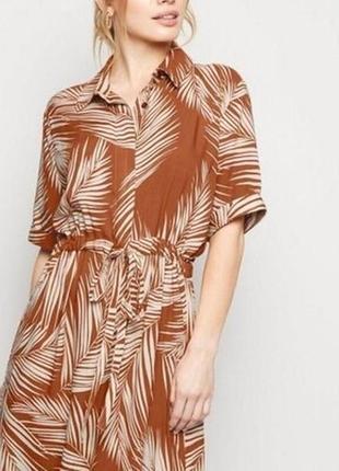 Платье рубашка,миди new look.торг!!!