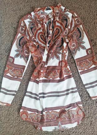 Туника халат платье