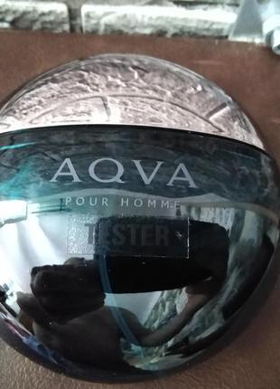 Мужская туалетная вода тестер bvlgari aqva pour homme 100 мл
