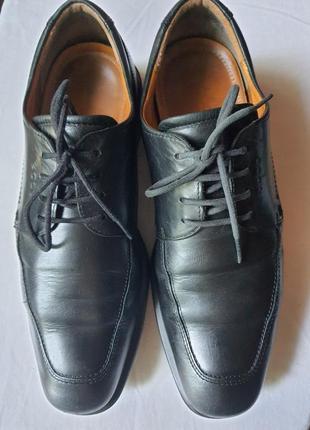 Ecco с технологией shock point туфли оригинал 42 р нат. кожа