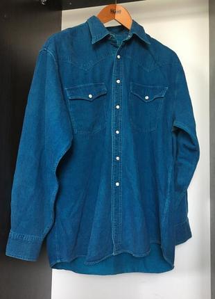 Джинсовая рубашка ветровка куртка курточка пиджак жакет