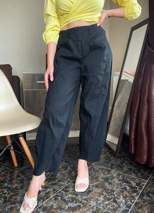 Льняние брюки широкие annette görtz оригинал