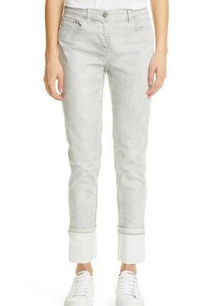 Fabiana filippi светлые джинсы брюки хлопок