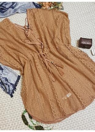 Плаття платье пляжне плаття пляжное платье primark туніка туника
