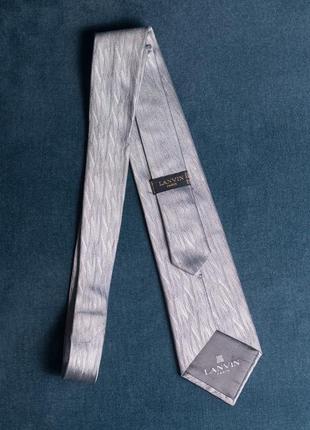 Галстук lanvin оригинал шелковый краватка