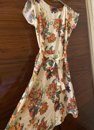 Шифоновое лёгкое платье