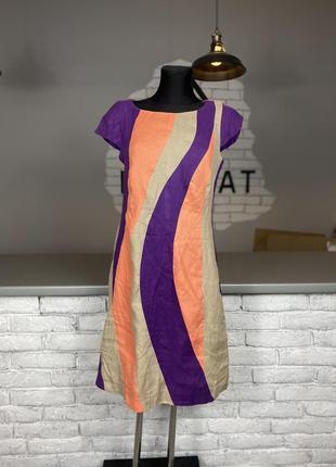 Льняное платье льяна сукня