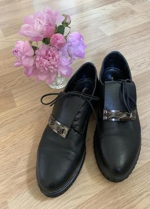 Стильные ботинки из натуральной кожи!
