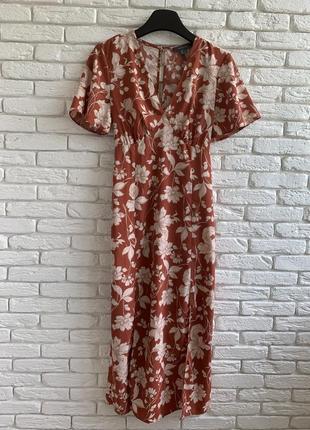 Стильное платье/сарафан с разрезами