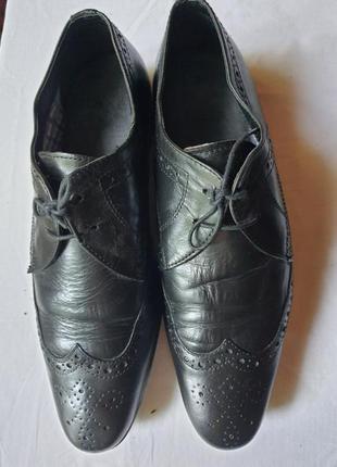 Английские туфли натуральная кожа 42 р.
