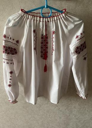 Вышиванка блуза