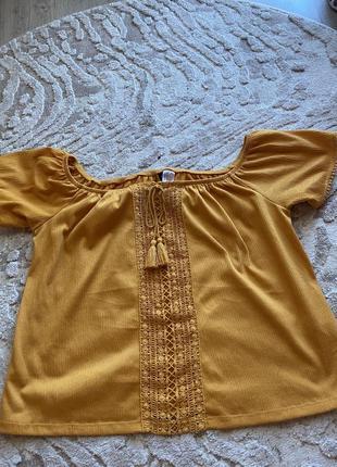 Летняя блуза hm