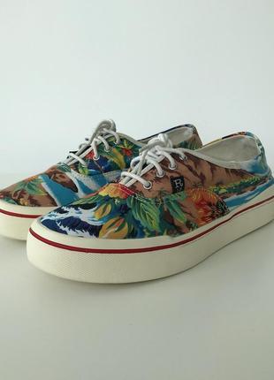 Кеды сланцы r13 printed slides sneakers