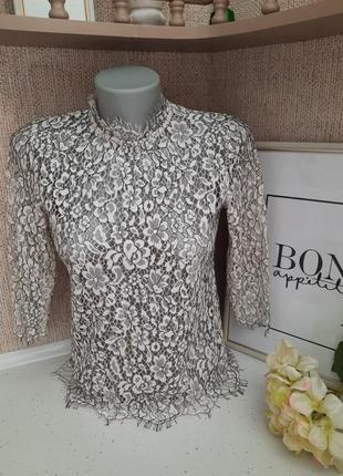 Жіноча ажурна блуза