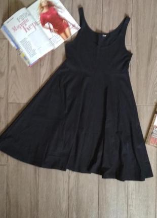 Платье майка черное, размер 40-42