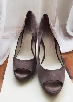 Туфли замшевые   туфлі замшеві
