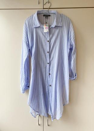 Удлиненная рубашка