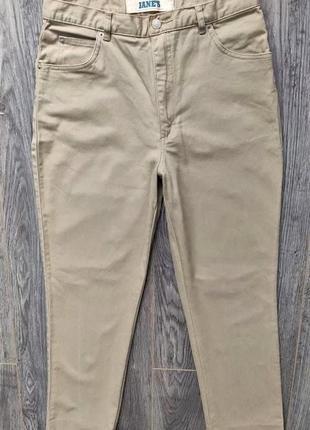 Брюки штаны джинсы с завышенной талией slouchy слоучи/mom мом