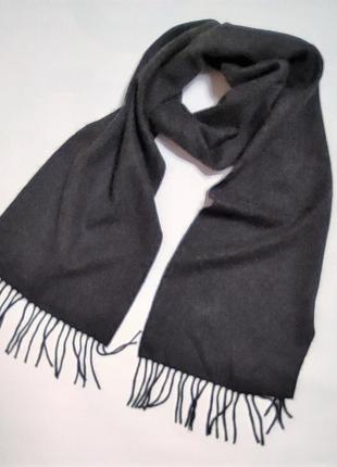 Шикарный кашемировый шарф uniqlo /3992/