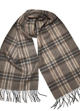 Шикарный мужской шарф 100% baby alpaca  перу /4717/