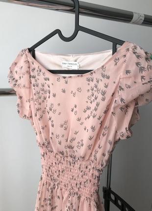 Дуже жіночне плаття на підкладці від англійського бренду ravi famous