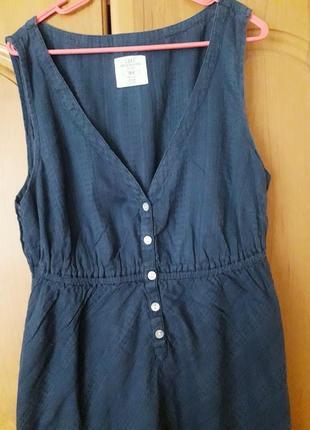 Платье h&m синее, s/m