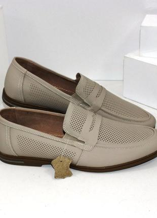 Туфли кожаные  / мужские туфли натуральная кожа