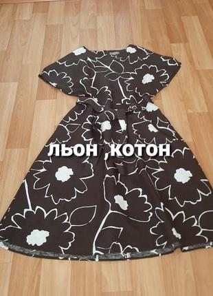 Плаття  льон , котон