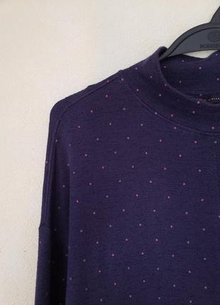 Стречевое платье свитер м&s