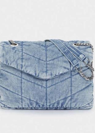 Джинсовая сумка parfois