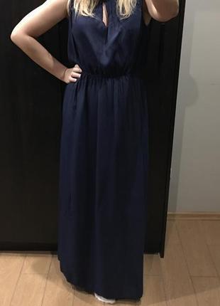 Стильное платье с вискозы mango