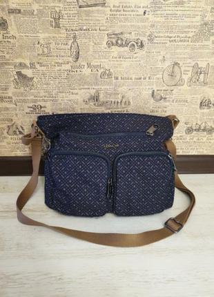 Симпатична сумка на плече kipling