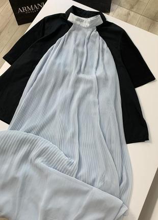 Платье свободное h&m премиум коллекция с красивой спинкой