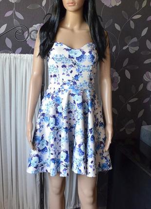 Ніжне плаття в квіти boohoo 1+1 = 3