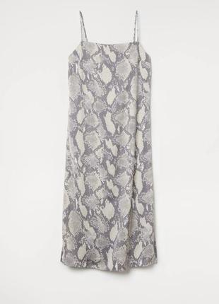Платье в бельевом стиле: принт