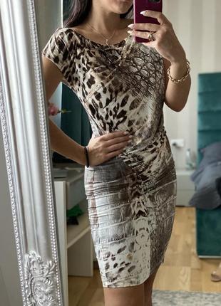 Платье мини roberto cavalli